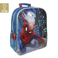 BACKPACK SCHOOL LIGHTS SPIDERMAN