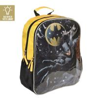 BACKPACK SCHOOL LIGHTS BATMAN