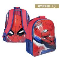 MOCHILA ESCOLAR REVERSIBLE  SPIDERMAN