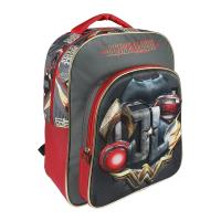 MOCHILA ESCOLAR 3D  JUSTICE LEAGUE