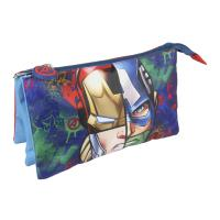 TROUSSE PLAN 3 COMPARTIMENTS AVENGERS