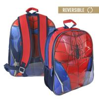 MOCHILA ESCOLAR REVERSIVEL SPIDERMAN