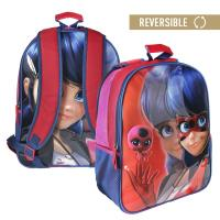 BACKPACK SCHOOL REVERSIBLE LADY BUG