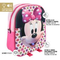 MOCHILA INFANTIL LUCES  MINNIE