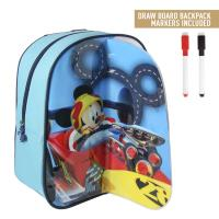 MOCHILA PLAY BACK DIBUJO MICKEY ROADSTER