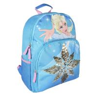 BACKPACK SCHOOL SEQUINS FROZEN 1