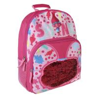 BACKPACK SCHOOL SEQUINS TROLLS 1