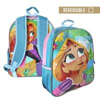 MOCHILA ESCOLAR REVERSIBLE TANGLED