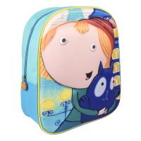 BACKPACK NURSERY 3D PEG + CAT