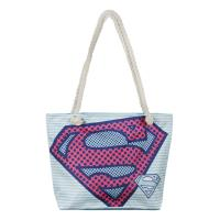 SAC À MAIN PLAGE SUPERMAN