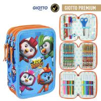 FILLED PENCIL CASE TRIPLE GIOTTO PREMIUM TOP WING