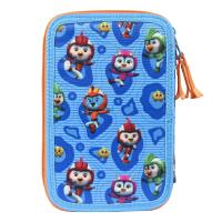 FILLED PENCIL CASE TRIPLE GIOTTO PREMIUM TOP WING 5