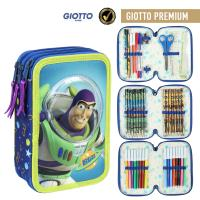 FILLED PENCIL CASE TRIPLE GIOTTO PREMIUM TOY STORY
