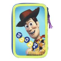 FILLED PENCIL CASE TRIPLE GIOTTO PREMIUM TOY STORY 1