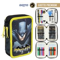 FILLED PENCIL CASE TRIPLE GIOTTO PREMIUM BATMAN