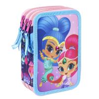 FILLED PENCIL CASE TRIPLE GIOTTO PREMIUM SHIMMER AND SHINE 5
