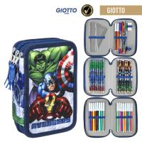 FILLED PENCIL CASE TRIPLE GIOTTO AVENGERS