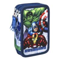 FILLED PENCIL CASE TRIPLE GIOTTO AVENGERS 5