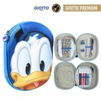 FILLED PENCIL CASE TRIPLE 3D DISNEY DONALD