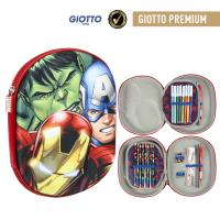 FILLED PENCIL CASE TRIPLE 3D AVENGERS