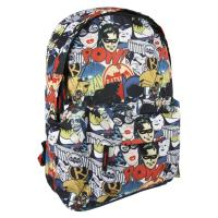 BACKPACK SCHOOL HIGH SCHOOL BATMAN
