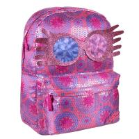 BACKPACK CASUAL LENTEJUELAS HARRY POTTER LUNA LOVEGOOD