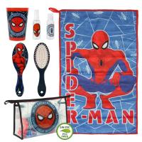 TROUSSE DE TOILETTE SET DE TOILETTAGE PERSONNEL SPIDERMAN