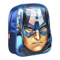 BACKPACK NURSERY 3D PREMIUM AVENGERS CAPITAN AMERICA