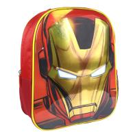 KIDS BACKPACK 3D PREMIUM AVENGERS IRON MAN