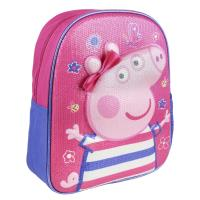 BACKPACK NURSERY 3D PREMIUM PEPPA PIG