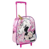 MOCHILA TROLLEY INFANTIL 3D MINNIE