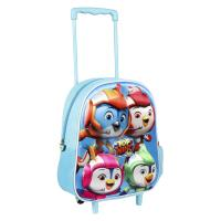 MOCHILA TROLLEY INFANTIL 3D TOP WING