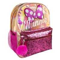 MOCHILA CASUAL MODA BRILLANTE MINNIE