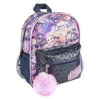 MOCHILA CASUAL MODA BRILLANTE LOL