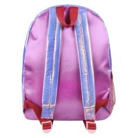 MOCHILA CASUAL MODA IRIDISCENTE SUPERMAN 1
