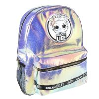 BACKPACK CASUAL FASHION IRIDESCENT LOL