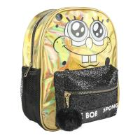 BACKPACK CASUAL FASHION BRILLANTE BOB ESPONJA
