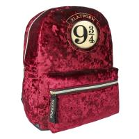 BACKPACK CASUAL FASHION VELVET HARRY POTTER