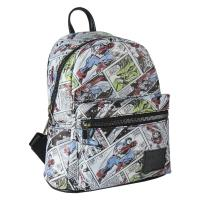 BACKPACK CASUAL FASHION FAUX-LEATHER MARVEL