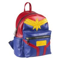 BACKPACK CASUAL FASHION FAUX-LEATHER CAPTAIN MARVEL