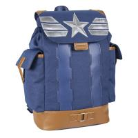 BACKPACK CASUAL TRAVEL AVENGERS CAPITAN AMERICA