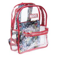 BACKPACK CASUAL FASHION TRANSPARENT MARVEL