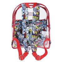 BACKPACK CASUAL FASHION TRANSPARENT MARVEL 1