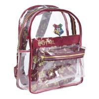 BACKPACK CASUAL FASHION TRANSPARENT HARRY POTTER