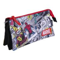 TROUSSE PLAN 3 COMPARTIMENTS MARVEL
