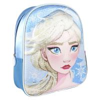 BACKPACK NURSERY 3D PREMIUM LENTEJUELAS FROZEN 2