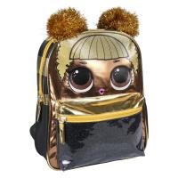 MOCHILA INFANTIL PERSONAGEM BRILLANTE LOL