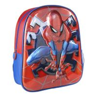 KIDS BACKPACK 3D PREMIUM METALLIZED SPIDERMAN