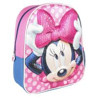 BACKPACK NURSERY 3D PREMIUM LENTEJUELAS MINNIE