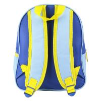 KIDS BACKPACK 3D PREMIUM IMITATION-SUEDE MINIONS 1